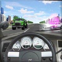 Скриншот к файлу: Police Traffic Racer