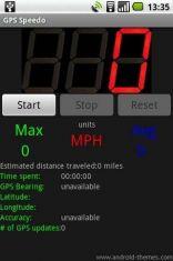 Скриншот к файлу: GPS Speedometer