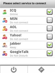 Скриншот к файлу: Agile Messenger – IM клиент для Android