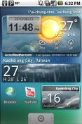 Скриншот к файлу: 9s-Weather (with clock) v.1.0.34.83 (RU)