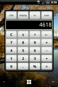 Скриншот к файлу: Calculator Widget