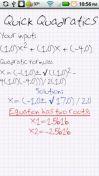Скриншот к файлу: Quick Quadratics