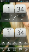 Скриншот к файлу: MIUI Digital Weather Clock