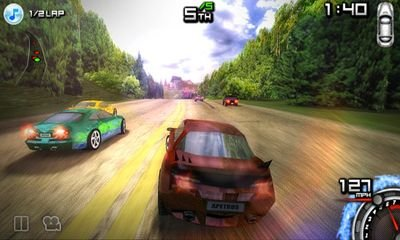 Скриншот к игре Race Illegal High Speed 3D для Android