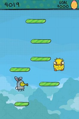 Doodle jump: Easter для Android