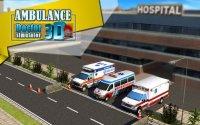 Скриншот к файлу: Ambulance Doctor simulator 3D (Скорая помощь Врач - Симулятор 3D)