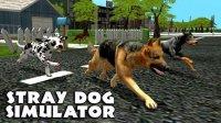 Скриншот к файлу: Stray dog simulator (Симулятор бродячей собаки)