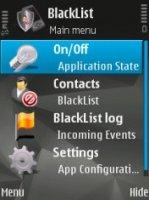 Скриншот к файлу: Black List Mobile - v.1.95