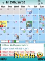 Скриншот к файлу: SBSH Calendar v. 1.51