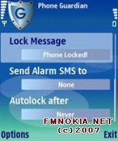 Phone Guardian 1.00 для Symbian OS 9.1