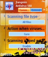Jiangmin Anti-Virus beta-free S60-3rd edition Symbian OS 9.1