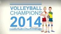 Скриншот к файлу: Volleyball champions 3D 2014 (Чемпионы по волейболу 3D 2014)