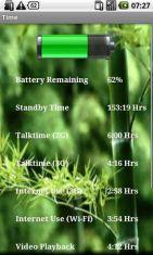 Скриншот к файлу: Battery Status Ultimate - продвинутый индикатор состояния батареи