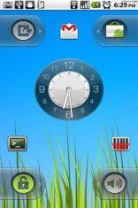 Скриншот к файлу: WidgetLocker Lockscreen - добавляем виджеты программ на экран блокировки