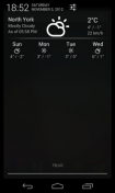 Скриншот к файлу: Notification Weather [1.1.8]