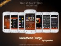 Nokia theme Orange by LA