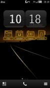 Скриншот к файлу: Lumiline Orange by Techlysis