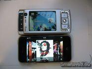 iPhone 2G и Nokia N95