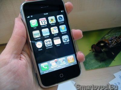 Фото первого iPhone