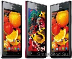 Huawei Ascend P1 S – новый Android-смартфон с толщиной 6,68 мм