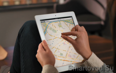 Картография от Apple
